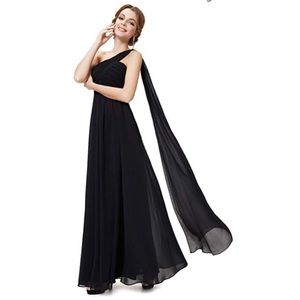 Dresses & Skirts - Black Evening Gown (prom dress)
